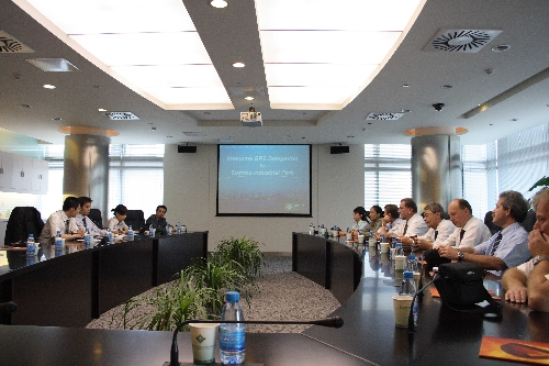 Picture: GPS Welcome Meeting at CSSD in Suzhou