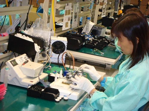 Picture: GPS Assembly Line in Singapore