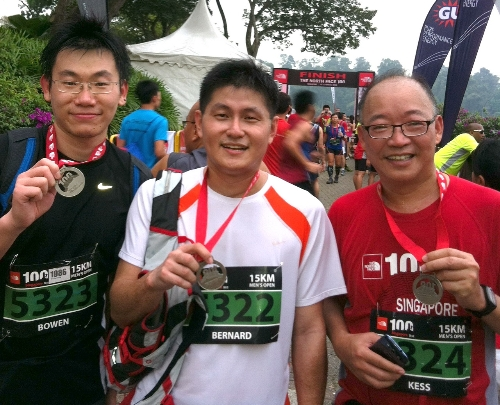 Picture: GPS Singapore Fitness Team - Start / Finish