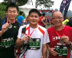 Picture GPS Singapore Fitness Team - Start / Finish